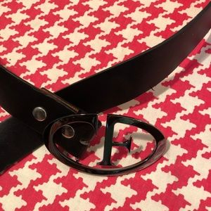Other - F Buckle Made in Italy Leather Belt